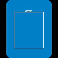Пакет поливинилхлорид (ПВХ) объемный пластиковая ручка усиленный скотч