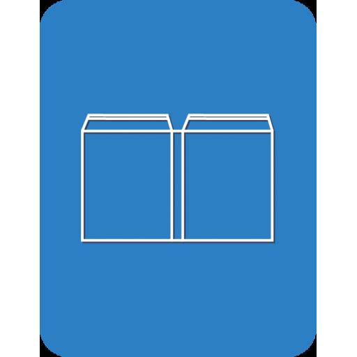 Пакет поливинилхлорид (ПВХ) объемный со скотчем
